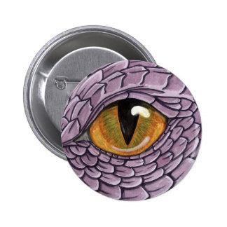 Ojo del dragón pin redondo de 2 pulgadas