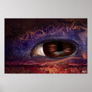 Ojo del dragón póster
