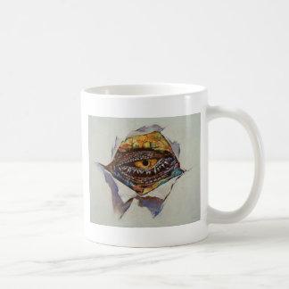 Ojo del dragón taza de café