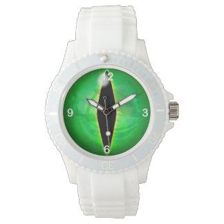 Ojo del dragón verde reloj