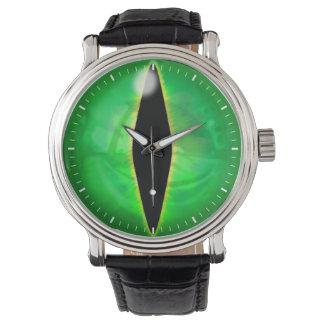 Ojo del dragón verde relojes