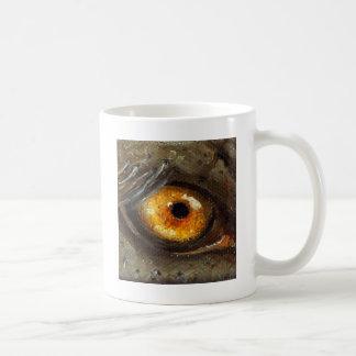 Ojo del elefante taza de café