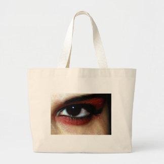 ojo del empeine bolsas lienzo