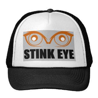 Ojo del hedor gorras de camionero