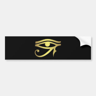 Ojo del horus etiqueta de parachoque