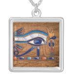 ojo del horus colgante cuadrado