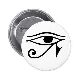 ojo del horus pin redondo de 2 pulgadas