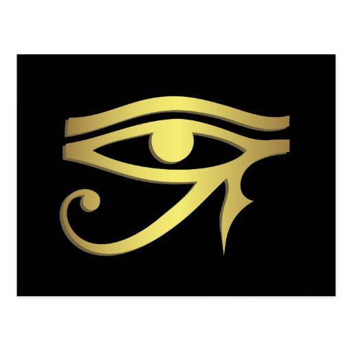 Ojo del horus tarjeta postal