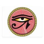 Ojo del icono de Horus Postales