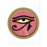 Ojo del icono de Horus Tarjetas Postales