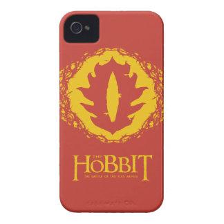 Ojo del icono de Sauron Case-Mate iPhone 4 Protectores