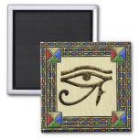 Ojo del imán cuadrado de Horus