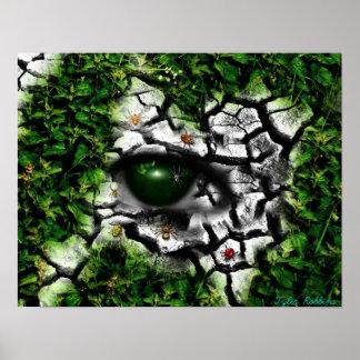 Ojo del insecto póster
