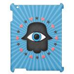 ojo del khamsa del hamsa a disposición de la diosa