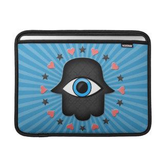 ojo del khamsa del hamsa a disposición de la diosa fundas MacBook
