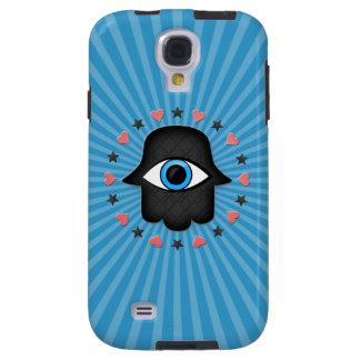 ojo del khamsa del hamsa a disposición de la diosa funda para galaxy s4