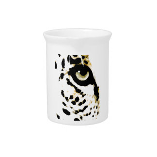Ojo del leopardo jarras de beber