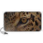 Ojo del leopardo notebook altavoces