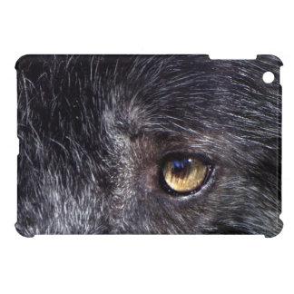 Ojo del lobo gris fauna ojos animales macho alf iPad mini protector