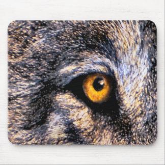 Ojo del lobo tapete de ratón