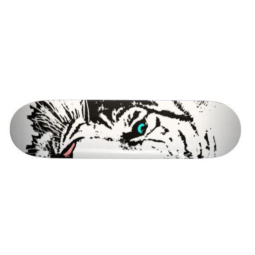 Ojo del monopatín del tigre