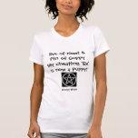 Ojo del Newt - camiseta vengada de la bruja (negro