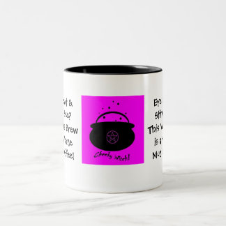 Ojo del Newt. El Brew de la bruja… Café Tazas
