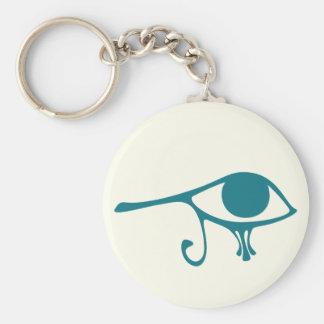 Ojo del Nilo de Horus Llavero Personalizado