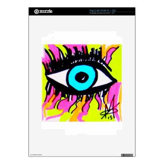 Ojo del ojo calcomanías para el iPad 2