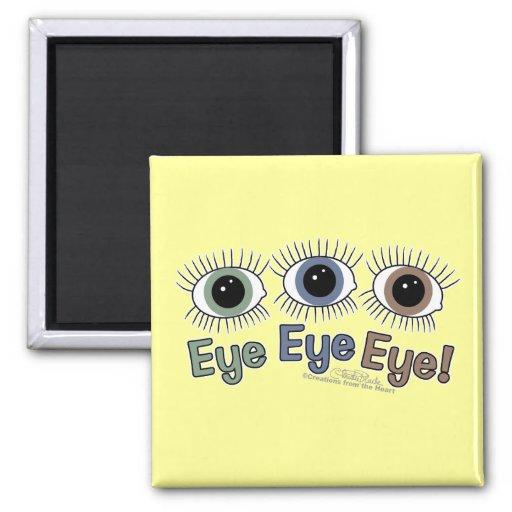 ¡Ojo del ojo del ojo! Iman