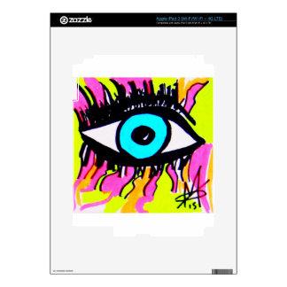 Ojo del ojo iPad 3 skins