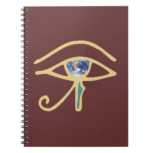 Ojo del oro de la tierra libro de apuntes