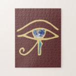 Ojo del oro de la tierra puzzles