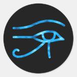 Ojo del pegatina de Horus