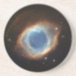Ojo del práctico de costa de la nebulosa de dios posavasos diseño