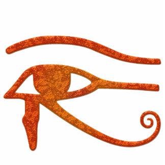 OJO del regalo esculpido antiguo de Egipto del RA  Esculturas Fotograficas