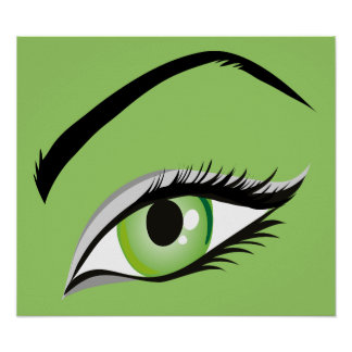 ojo del SALÓN del MAQUILLAJE de la MODA de la Impresiones