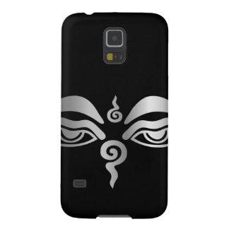Ojo del símbolo del Buddhism de Buda Funda Para Galaxy S5