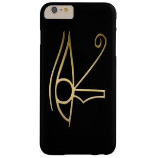 Ojo del símbolo del egipcio de Horus Funda De iPhone 6 Plus Barely There