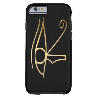 Ojo del símbolo del egipcio de Horus Funda De iPhone 6 Tough