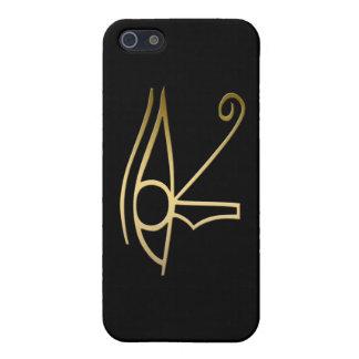 Ojo del símbolo del egipcio de Horus iPhone 5 Funda