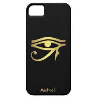 Ojo del símbolo del egipcio del horus funda para iPhone SE/5/5s