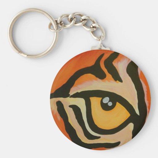 Ojo del tigre llaveros