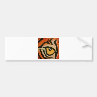 Ojo del tigre pegatina para auto