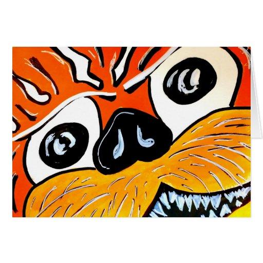 Ojo del tigre tarjeton