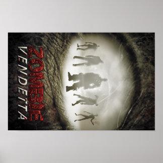Ojo del zombi póster