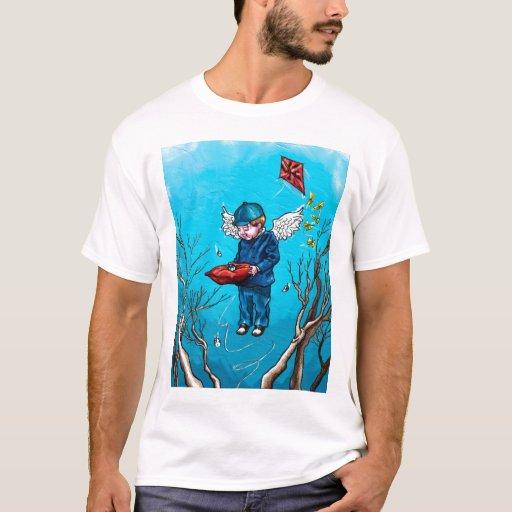 Ojo en la camiseta del cielo