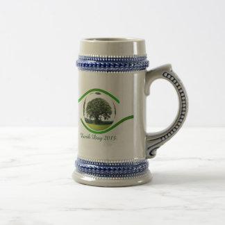 Ojo en la ecología jarra de cerveza