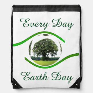 Ojo en la ecología mochila