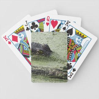Ojo en usted baraja cartas de poker